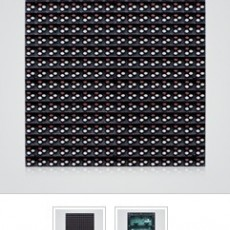P10 outdoor full color LED module panel